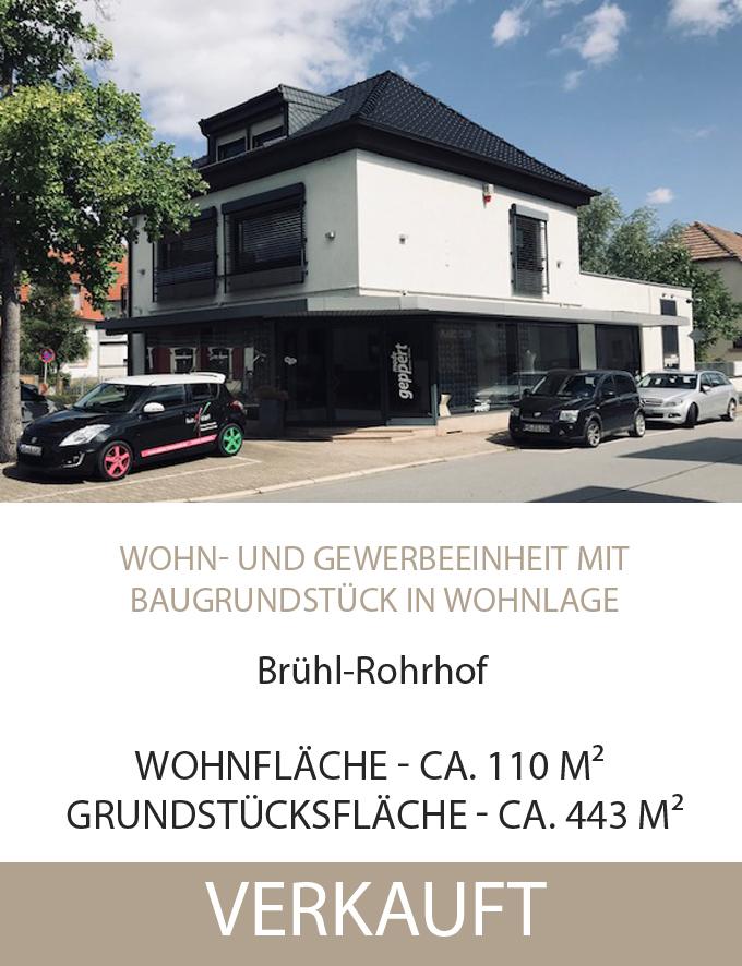 Brühl-Rohrhod, Wohn-Gewerbe