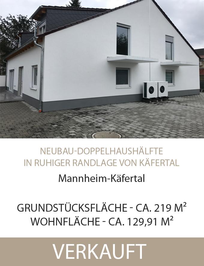 Doppelhaushälfte, Käfertal