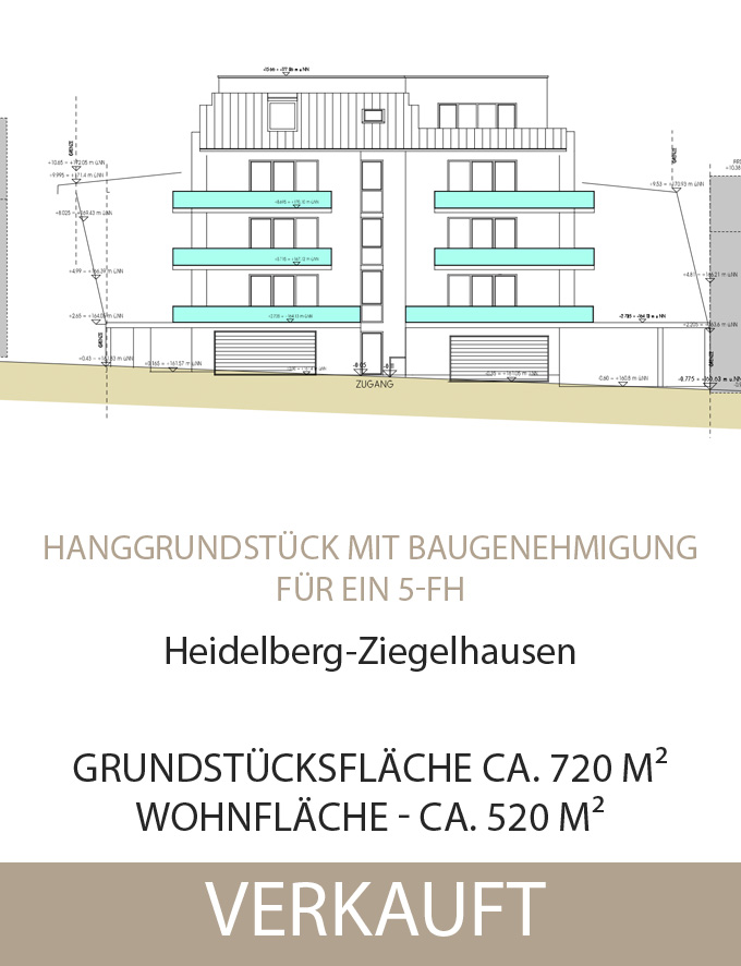 Grundstück HD-Ziegelhausen