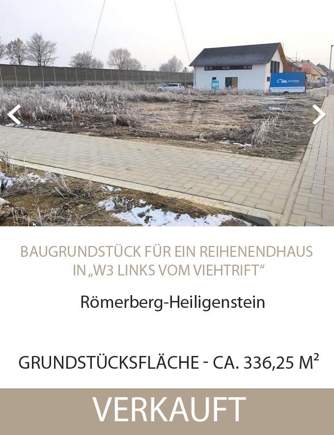 Grundstück, Römerberg (Endhaus)