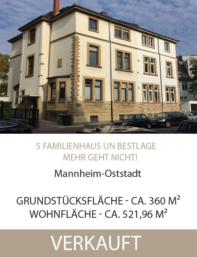 MA-Oststadt, Mehrfamilienhaus