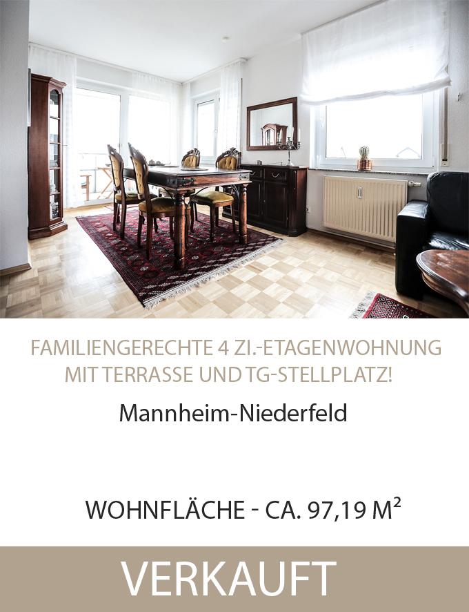Wohnung, MA-Niederfeld